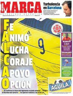 Falcao nie jedzie na MŚ. gazeta reaguje.