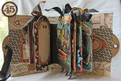 Scraps of Life: Graphic 45 Steampunk Spells Tag Book