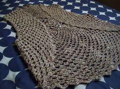 chalecos tejidos a crochet con patrones - Buscar con Google