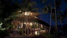 organic bamboo house