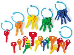 Count, Sort & Play Keys at Lakeshore Learning Counting To 20, Lakeshore Learning, Simple App, Preschool Class, Great Teacher Gifts, July Crafts, Niece And Nephew, Craft Activities, Sorting