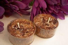 Fresh Brewed Coffee Tealights by SaponeSoaps on Etsy, $5.00