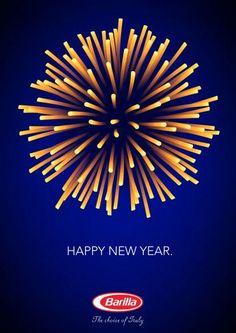 Barilla New Year's Eve ad