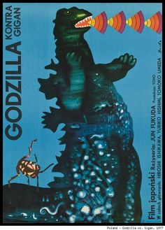 International Kaiju Movie Posters Pit Godzilla Against France, Germany, Poland and More