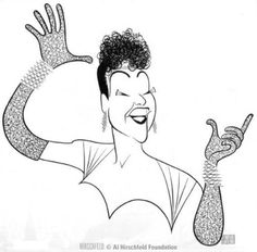 Ethel Merman by Al Hirschfeld