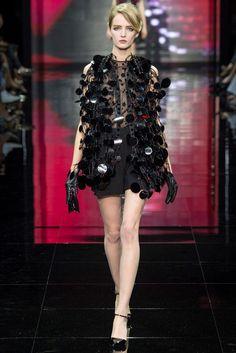 "rrrusskaya: "" Giorgio Armani Privé Fall - Winter 2014/2015. Model: Daria Strokous. """