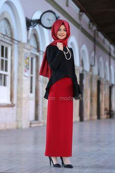 Pınar Şems - Kalem Etek Kırmızı, en uygun fiyat ve kalite güvencesinde. İncelemek ya da satın almak için tıklayınız...