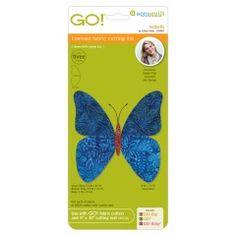 GO! Butterfly by Edyta Sitar (55467) fabric cutting die - Die package shown.