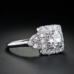 Vintage diamond ring. LOVE LOVE LOVE this ring!