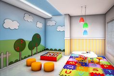 Edificio / Brinquedoteca / kids / play room / Architecture / Project / Building…