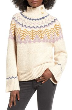 Pretty fair isle sweater for winter