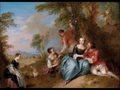 Jean-Baptiste Pater (December 1695 – July was a French rococo painter. French Rococo, Rococo Style, French Art, Baroque, Rococo Painting, Jean Honore Fragonard, Art Periods, Jean Baptiste, Vintage Prints