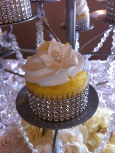 Rhinestone cupcake wrappers