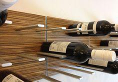 スマートで用途の広いワイン・ラック・デザイン: STACTワイン壁: アンチエイジングアンテナブログ