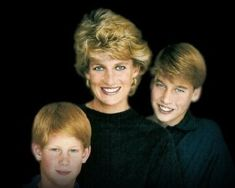Princess Diana & her 2 true loves! She'd be proud of both of them! Beautiful picture!