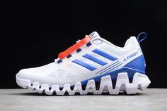Buy Good Quality adidas Terrex White/Blue For Shoes in Online Sneaker Store PerfectKicks with Cheap Price. Online Sneaker Store, Sneaker Stores, Adidas Models, Adidas Men, New Adidas Shoes, Adidas Sneakers, Jordan 13 Black, Black N Yellow, Blue