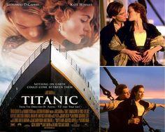 """Leonardo DiCaprio e Kate Winslet in """"Titanic"""""""