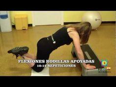 Ejercicios y circuito para la perdida de peso, una rutina de ejercicios musculares anaerobicos (y aerobicos) que incrementa el consumo de calorias