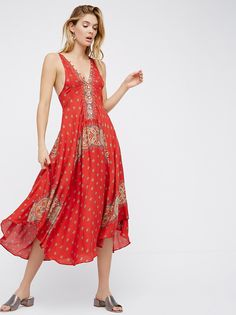 Faithfully Yours Printed Slip from Free People!