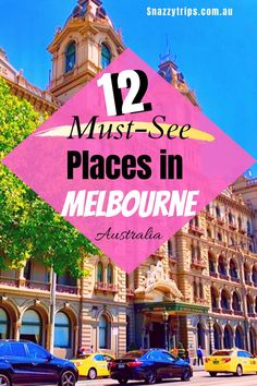 12 Must-See Places In Melbourne - SNAZZY TRIPS travel blog The City of Melbourne is a very walkable city, easy to find your way around and everything is conveniently located and well planned out. The 12 places I've chosen to see are all within walking distance from each other. So, put on your comfy shoes and here we go! Fiji Travel, Asia Travel, Travel Usa, Travel Pics, Travel Stuff, Brisbane, Sydney, Australia Travel Guide, Visit Australia