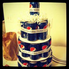 Pepsi cake!