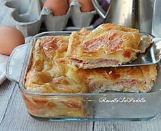 Torta al prosciutto velocissima, gustosa torta salata