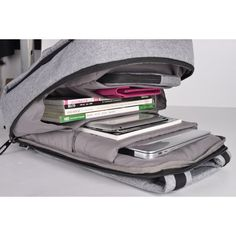 "Spacious compartment with padded sleeve holds most 15.6"" laptops. More colours available."