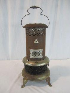 Vintage Temco Tenneessee Enamel Co Gas Heater 15 000 Btu