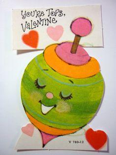 Vintage 1970s Unused Valentine Card by DimeStoreDarlings on Etsy