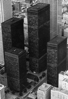 Mies.... Good design is timeless. Toronto Dominion Center. The master's last masterpiece.