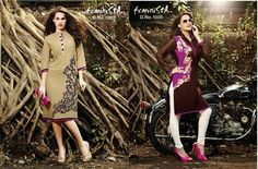Long Tops - Designer Kurtas Feminine Collection @ http://flipkartoffer.co.in/clothes.html