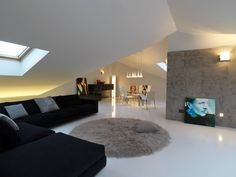 Attic Apartment Design, Italy by Studio Damilano
