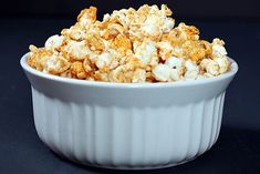 This easy, healthy popcorn has just enough salt, spices, and coconut oil to add flavor without too many added calories. No bags, no chemicals, no mess.