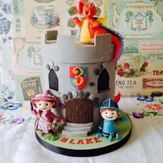 Mike the Knight  - Cake by The Skylark Bakery