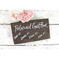 wedding shower poloroid boards - Google Search