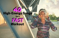 40 Upbeat Songs to Make Your Workout Fly By One Song Workouts, Workout Songs, Fast Workouts, At Home Workouts, Running Half Marathons, Half Marathon Training, Running Songs, Running Playlists, Running Tips