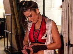 wwe has a lot on her mind as she hits the ring! Bailey Wwe, Pamela Rose Martinez, Wrestlemania 29, Wwe Female Wrestlers, Wwe Girls, Raw Women's Champion, Wwe Womens, Professional Wrestling, Wwe Superstars