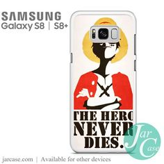 Monkey D Luffy Quote Phone Case for Samsung Galaxy S8 & S8 Plus