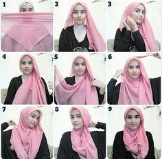 Hijab Tutorial from Sister Zahra