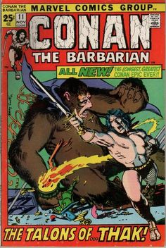 Cover for Conan the Barbarian (Marvel, 1970 series) #11