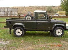 Land Rover Defender 110 Pick Up Land Rover Defender Pickup, Land Rover Pick Up, Land Rover 130, Defender 90, Land Rovers, Landrover Defender, Best 4x4, Range Rover, Autos