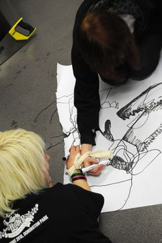 BMET Outline: Experimental Drawing with Ian Andrews Cooperation-resistance exercise