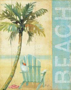 Ocean Beach I Art Print at AllPosters.com