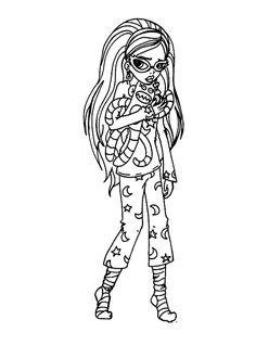 Dibujos para imprimir Monster High 13