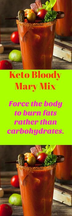 Keto Bloody Mary Mix. The Ketogenic diet is an easy low carb healthy weight loss program.This is a DIY recipe for a Low Carb spicy drink. Alcohol or alcohol free.