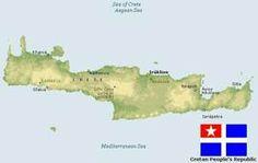Μωσαϊκό: Μυστικό Σχέδιο για την Κρήτη Diagram, Map, World, Blog, Location Map, Maps, Peace, The World