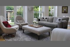 Knitted Furniture and Decorative Pillows by Melanie Porter, Stunning Modern Furniture Design - Upholstery Ideas Refurbished Furniture, Furniture Plans, Furniture Decor, Modern Furniture, Outdoor Furniture Sets, Furniture Design, Handmade Furniture, Office Furniture, Contemporary Chairs