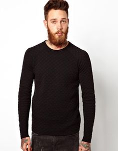 Image 1 ofASOS Quilted Jumper