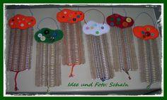 Handarbeiten und ein bisschen mehr!: Schule 2014/2015 - 3 Dream Catcher, Father's Day, Elementary Schools, Hand Crafts, Craft, Wool, Weaving, Dreamcatchers