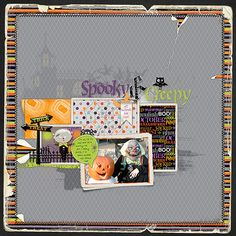 Talk Bubbles are a Trendy Motif Perfect for the Scrapbook Page | Scrapbook Page by Deborah Wagner | GetItScrapped.com/blog